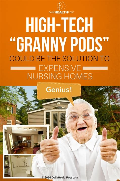 high tech granny pods allow elderly family members to high tech quot granny pods quot could be the solution to expensive