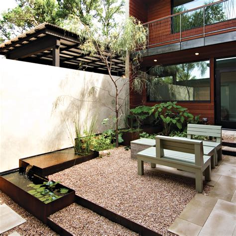 courtyard landscape courtyard contemporary landscape