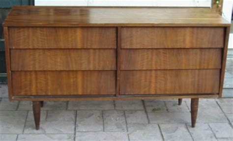 Ward Dresser by Angled Louvered Drawers Mid Century Modern Dressers Circa 1960s Ward Furniture Mid Century