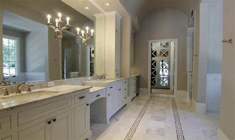 grey  white master bath bathroom designs decorating ideas