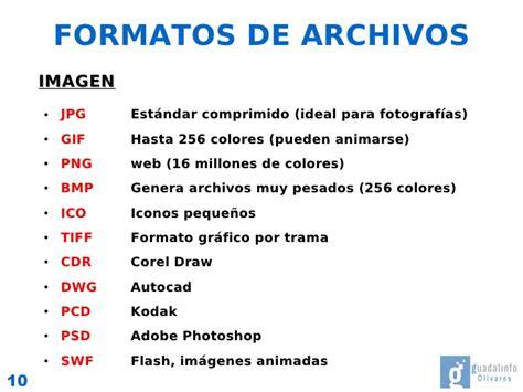 imagenes a formato pdf soportes y formatos digitales