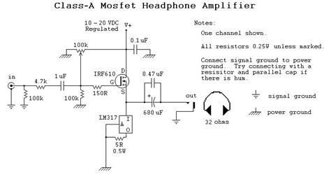 transistor headphone lifier circuit mosfet circuit page 3 other circuits next gr