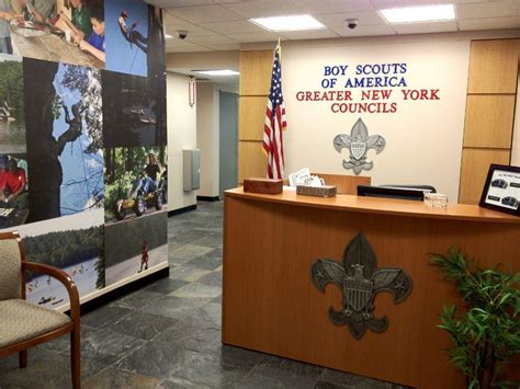 Boy Scout Office by Entrance Boy Scouts Of America Office Photo