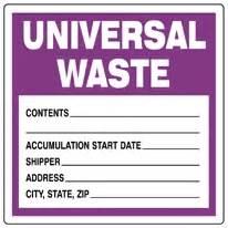 universal waste ls warisan lighting