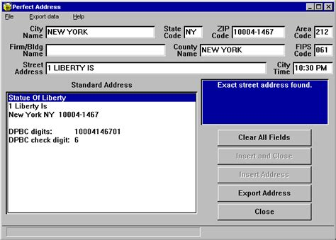 Address By County Search Easy Address And Zip Code Checking With Address A