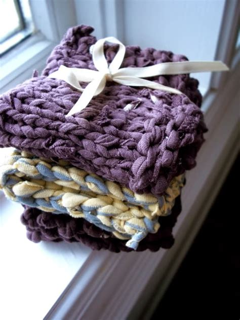 t shirt yarn dishcloth pattern what is t shirt yarn and what can i make with it free