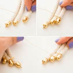how to make rope jewelry 3 easy ways to make a stunner necklace with rope brit co