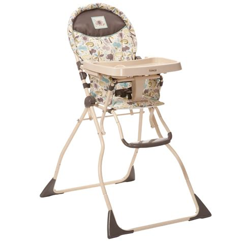Cosco Folding High Chair by Cosco Safari Compact Slim Fold High Chair Shop