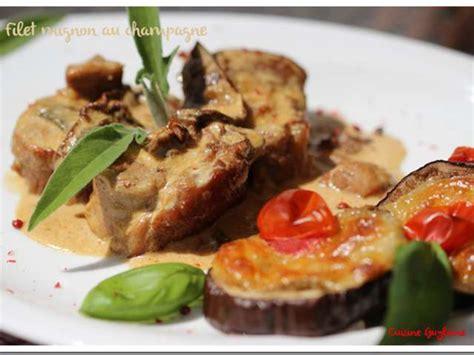cuisine filet mignon recettes de chagne de cuisine guylaine