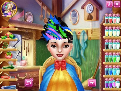 real haircuts games ever after high snow white real haircuts girls games gamingcloud