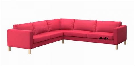 karlstad corner sofa cover ikea karlstad corner sofa slipcover cover sivik pink red