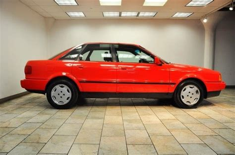 how to sell used cars 1993 audi 90 regenerative braking 1993 audi 90 s red grey low miles for sale photos technical specifications description