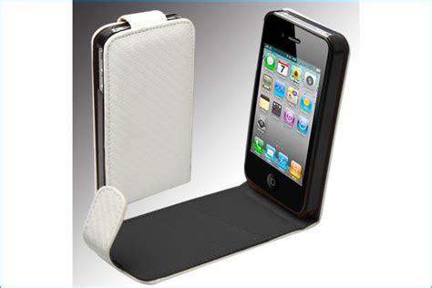 fundad iphone 4 funda piel para iphone 4 4s blanca