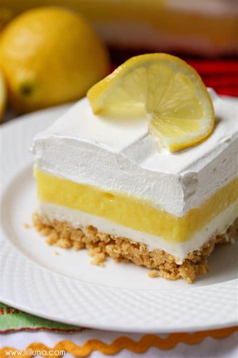 desserts lemon lemon dessert