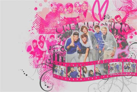 Pink One Direction Chrome Theme   ThemeBeta