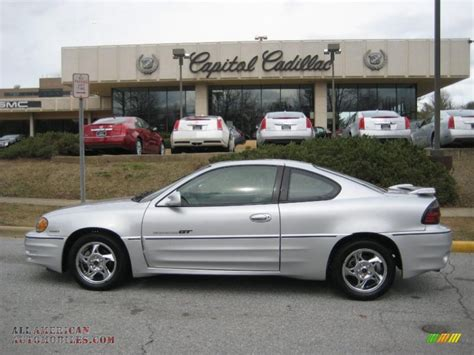 Pontiac Grand Am Gt 2002 by 2002 Pontiac Grand Am Gt Coupe In Galaxy Silver Metallic