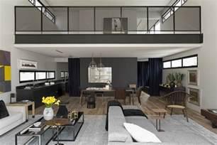 modern industrial interior design modern industrial interior design in beautiful open