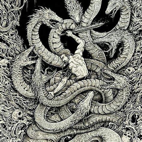 hydra tattoo best 10 hydra mythology ideas on