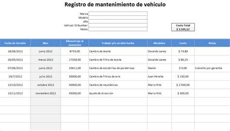 descargar planilla excel control consumo combustible descargar formato control vehiculos excel gratis descargar