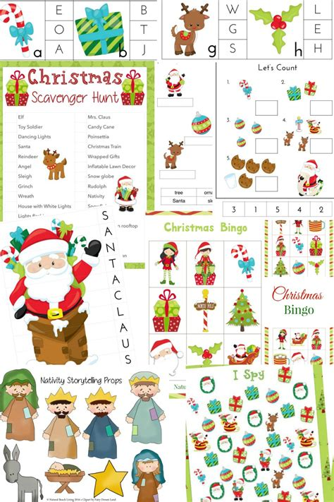 christmas activity forwork the best activities for printables and activities living