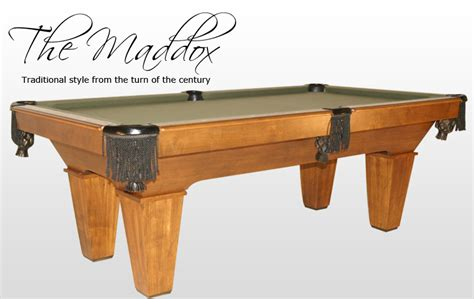 Golden West Pool Table by Pool Tables By California House Gametablesetc