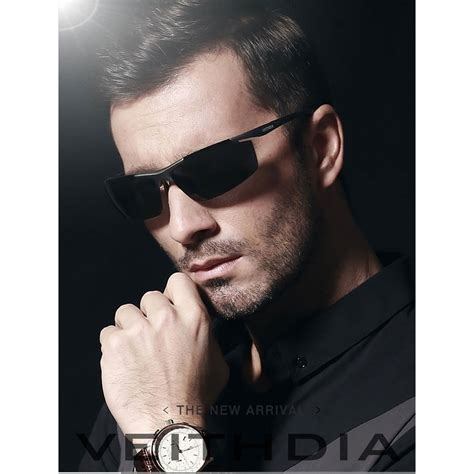Kacamata Pria Fullset 8 veithdia kacamata pria uv polarized 6588 black jakartanotebook