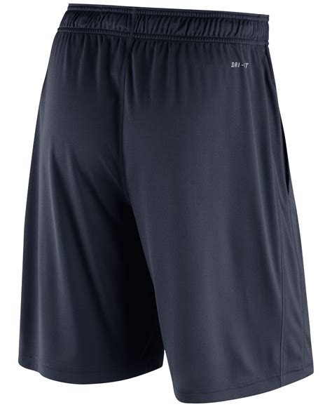 shorts white navy 30 smash nike s chicago bears practice fly 3 0 dri fit shorts in blue for lyst