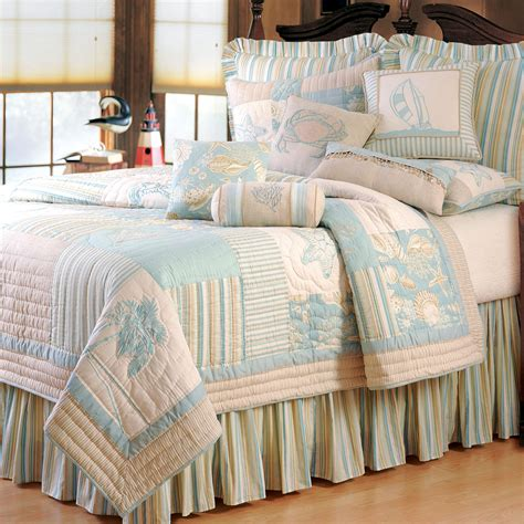 bed quilt coastal living bedding images