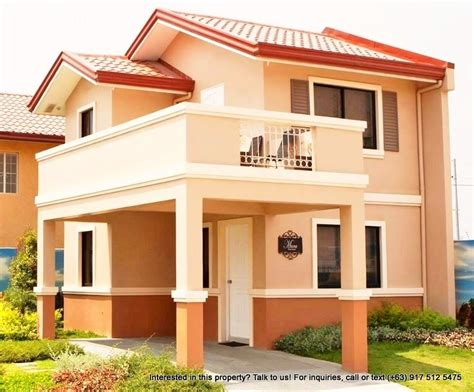 camella house designs camella altea model houses house and home design