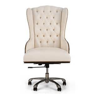 Small Tufted Desk Chair Christopher Furniture Design Glam Interior High