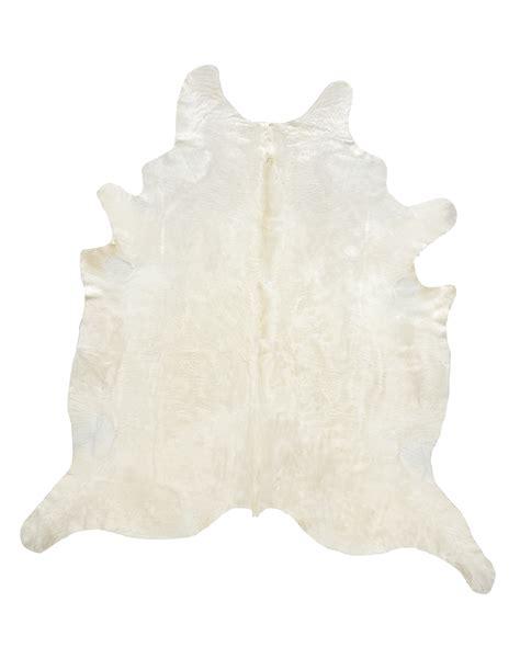 Ivory Cowhide Rug Ivory With Beige Yellow Undertones Cowhide Moss Manor