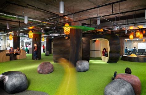 Dublin Google Office Groupon S Chicago Headquarters By Box Studios Officelovin