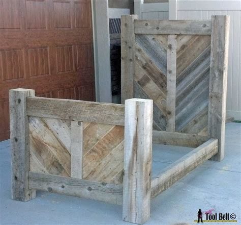 diy barn wood project plans white rustic barnwood bed plan diy projects