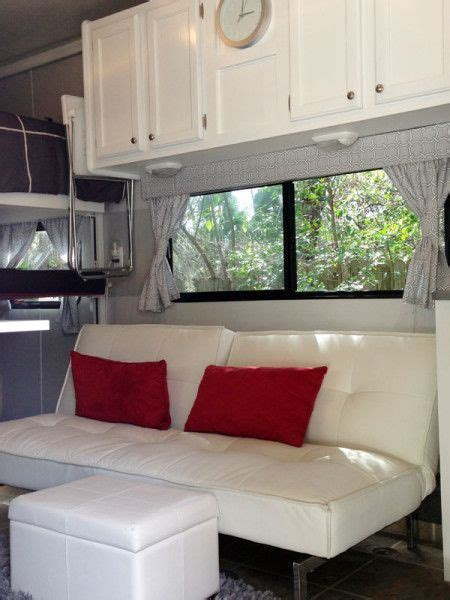 travel trailer remodel 9 cer remodel with ikea furniture rv living and