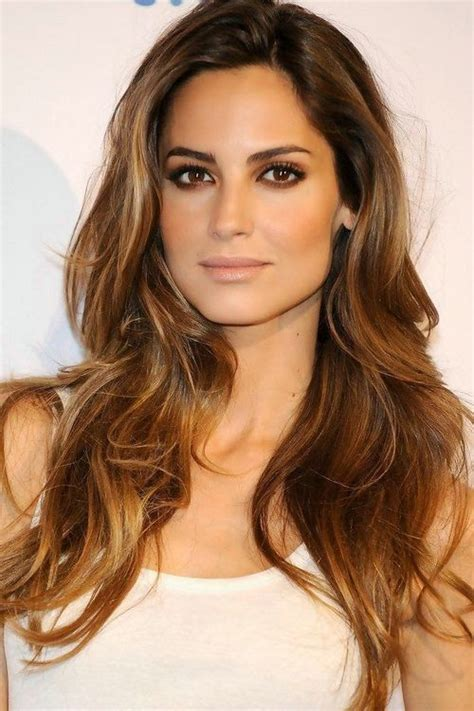 brunette hairstyle with lots of hilights for over 50 2016 vibrant brown hair color with highlights trendy