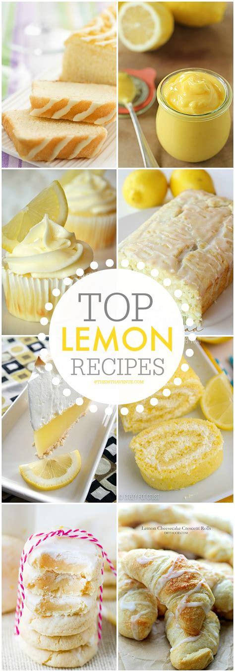 best lemon dessert recipes the 36th avenue