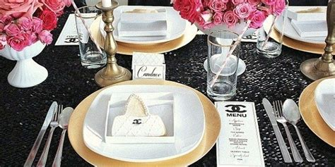 chanel themed st birthday party guest feature