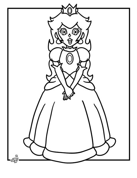 Coloring Pages Princess Peach Game Coloring Pics Of Princesses Free Coloring Sheets