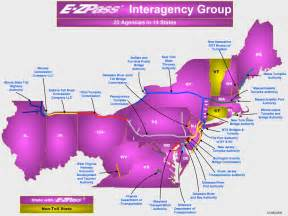 Ez Pass States Map by The Journey Of A Lifetime August 2010