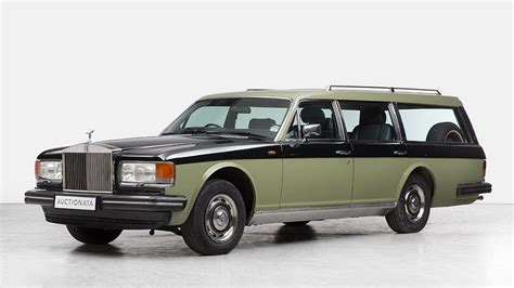 This 80s Rolls Royce Up For Auction Could Be A