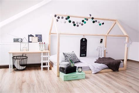 house bed bed house frame scandi design for kids without base
