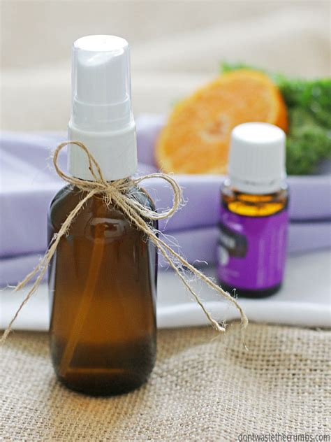 Cool Scents Lavender diy linen spray with essential oils don t waste the crumbs