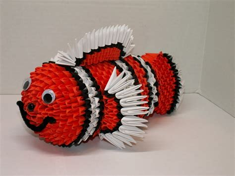 3d origami fish wallpaper