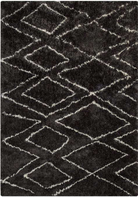 large black and white rug deryn black and white large rug r400241