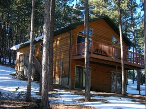 Lake Pactola Cabin Rentals by Modern Black Home Nestled In The Pines Near