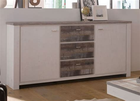 kommode vintage holz sideboard kommode eiche geweisst eiche vintage woody 91