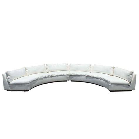 milo baughman circular sofa milo baughman for thayer coggin semi circular sectional