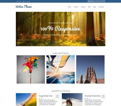theme virtue blog 300 best free responsive wordpress themes webprecis