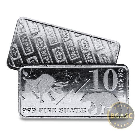10 Gram Silver Bars by Buy 10 Gram Silver Bars Monarch Bull Market 0 32