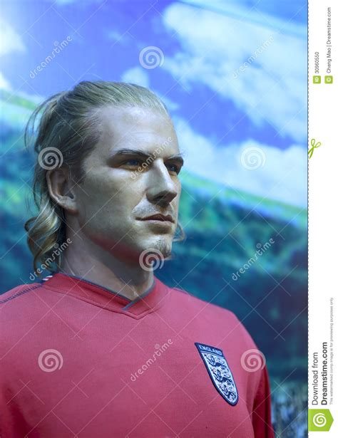 Another Bad Beckham Wax Figure by Beckham S Wax Figure Editorial Image Image 30960550